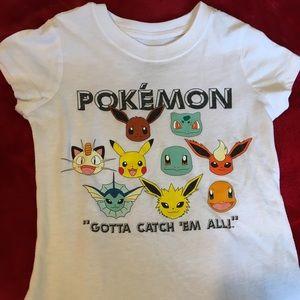 girls pokemon tee shirt